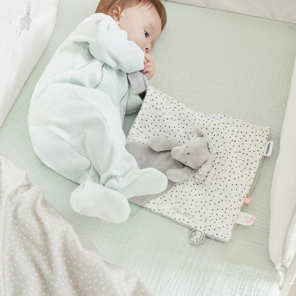 Anna safety blanket from the Anna & Milo collection