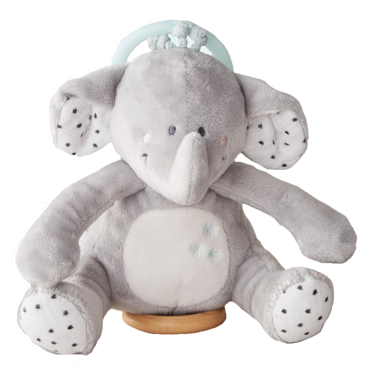 Veloudoux Anna decorative mini musical soft toy from the Anna & Milo collection
