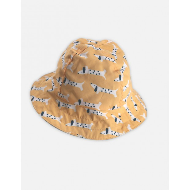 Hat Reversible Yellow Dogs