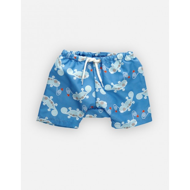 Cameleon Blue Swimshorts Double Protection