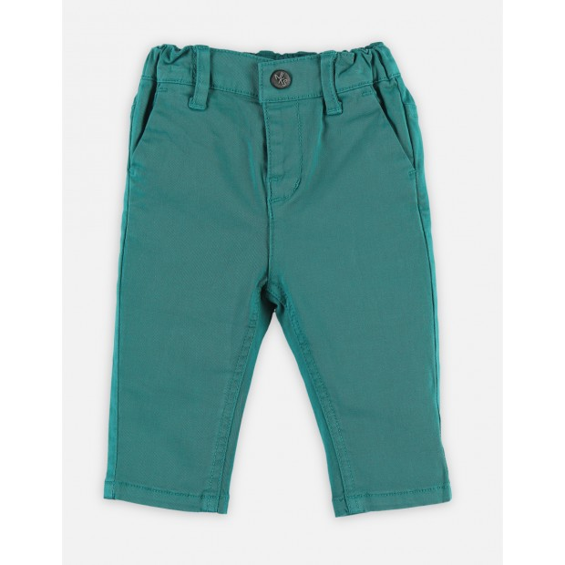 Trousers Cotton Green