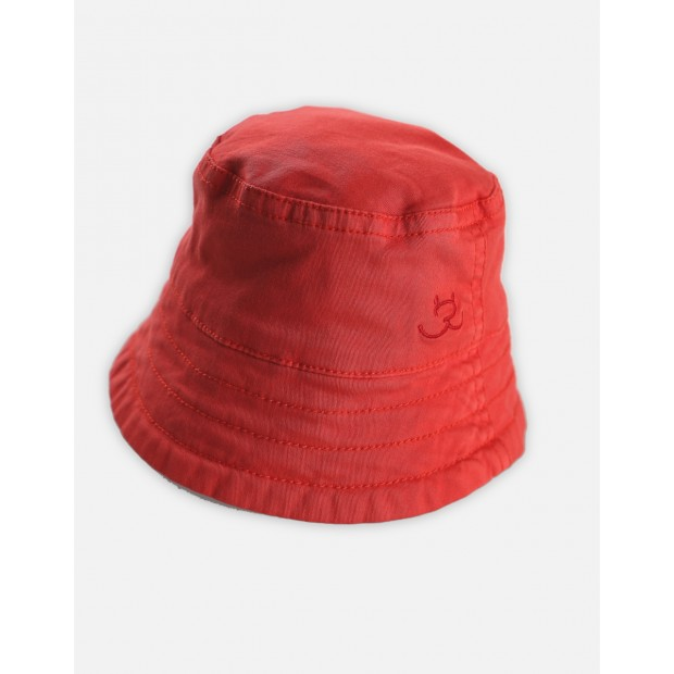 Hat Cotton Red