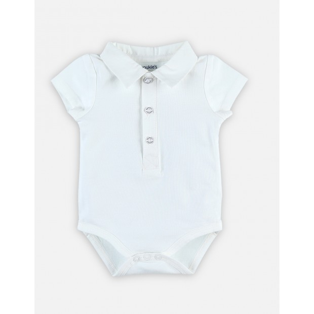 Tidy body manches courtes blanc