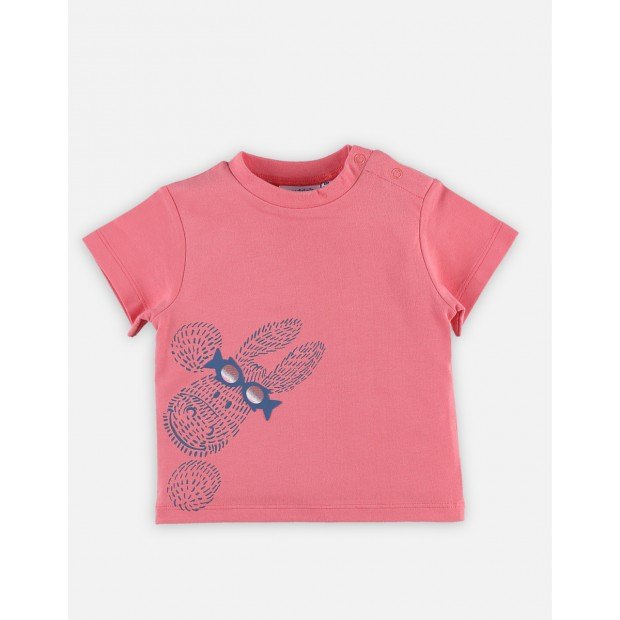T-shirt manches courtes Paco rouge