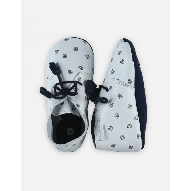 Slippers Leather White