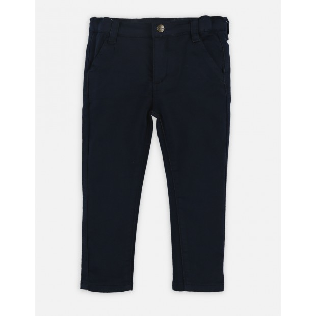 Trousers Cotton Navy