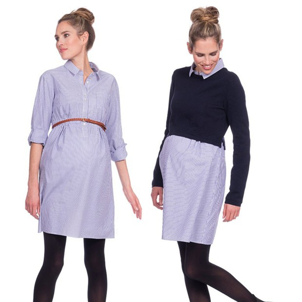 Two-Piece Nursing Dress