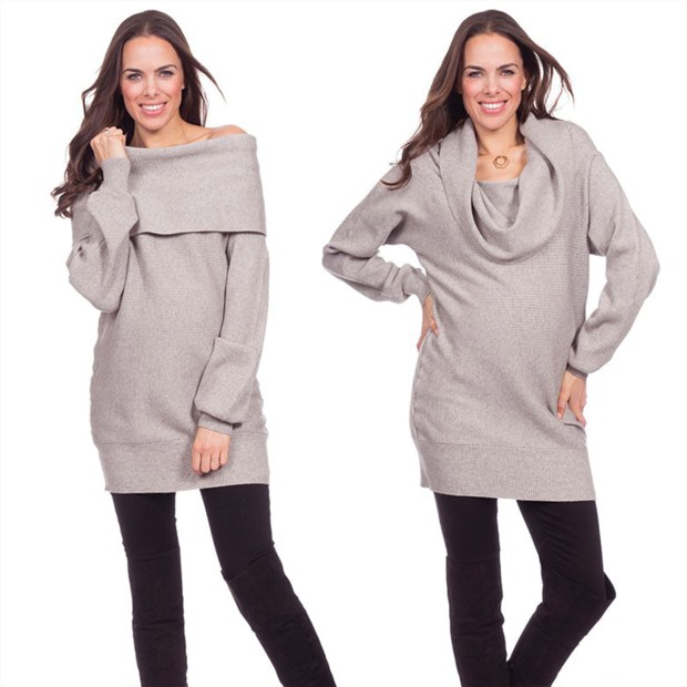 Convert Shoulder Knitted Tunic