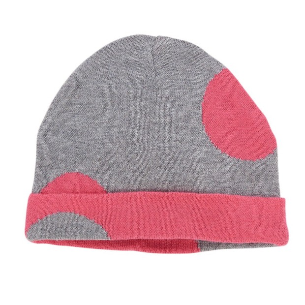 Dotted Knit Hat