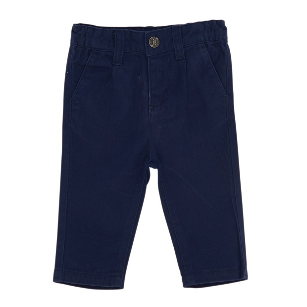 Navy Blue Twill trouserss Baby And Boy
