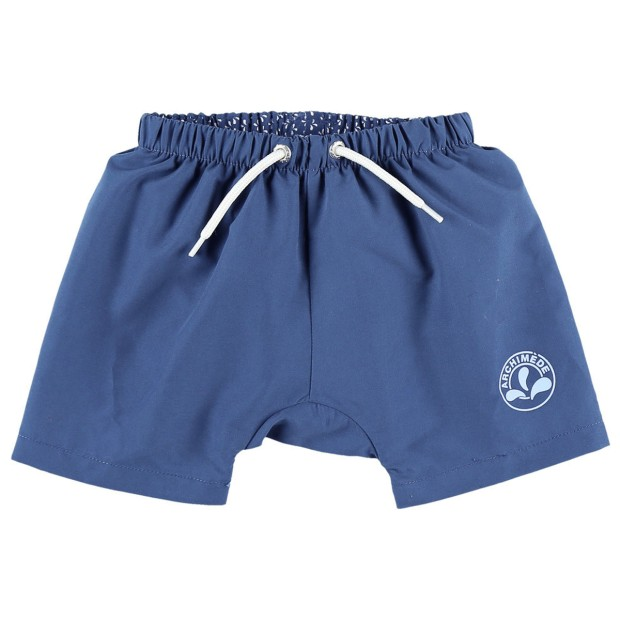 Navy Blue Bathing Shorts