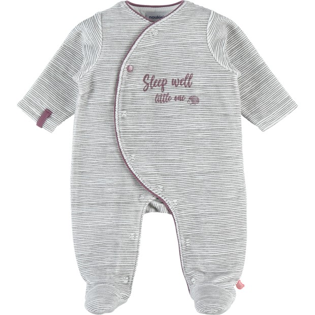 Pyjamas Graphic Velvet Grey