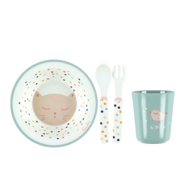 Imagine Melamine Dinner set 4 pieces