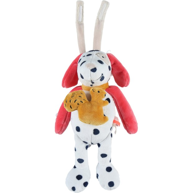 Musical soft toy Veloudoux Zoé