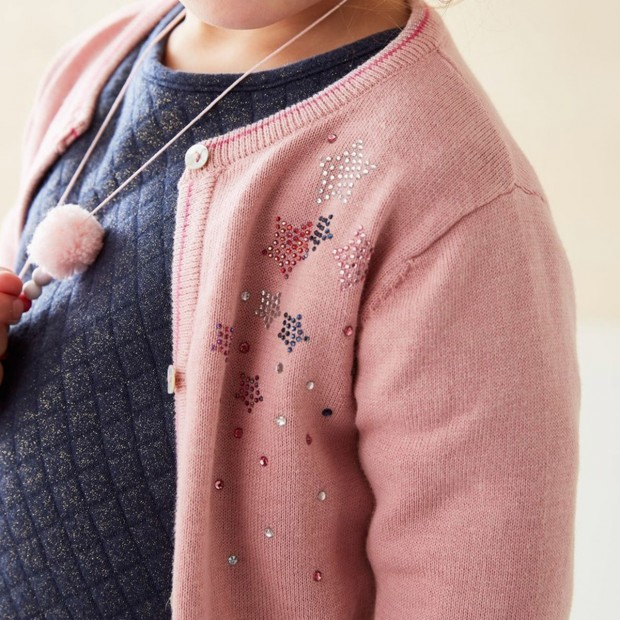 Cardigan Tricot Roos