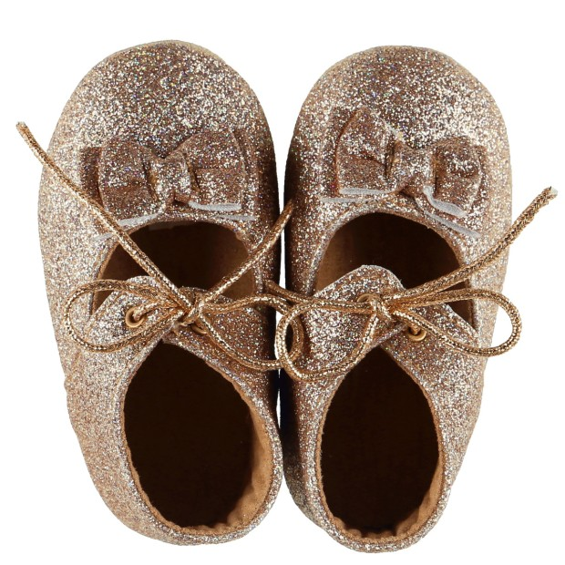 Slippers Leather Beige