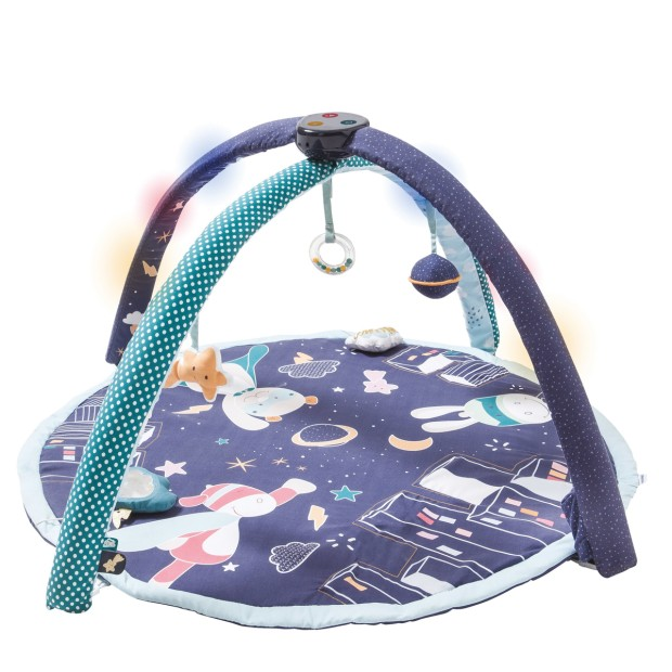 Sounds & lights superheros activity mat