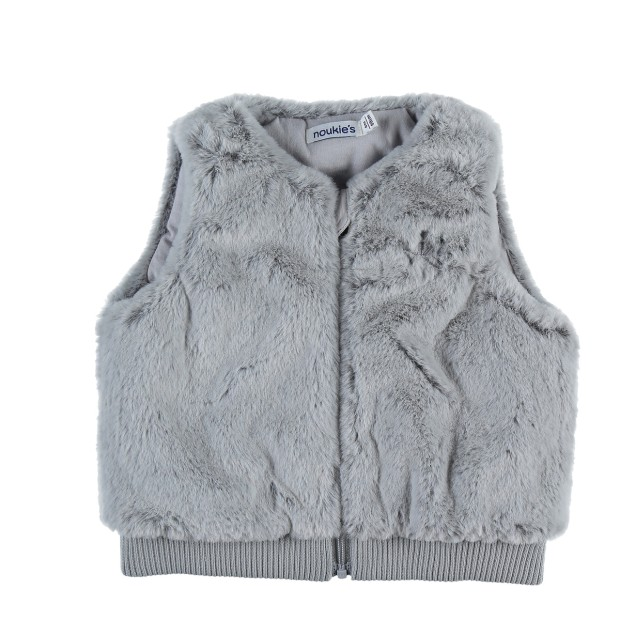Grey Groloudoux sleeveless vest
