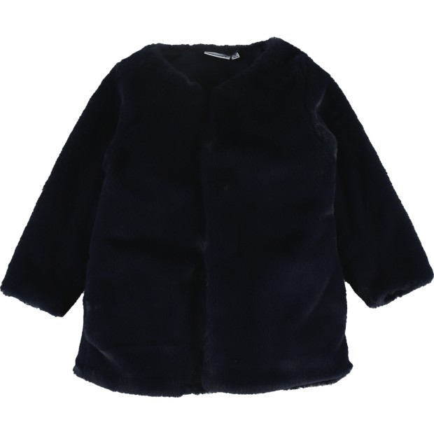 Coat Groloudoux Navy