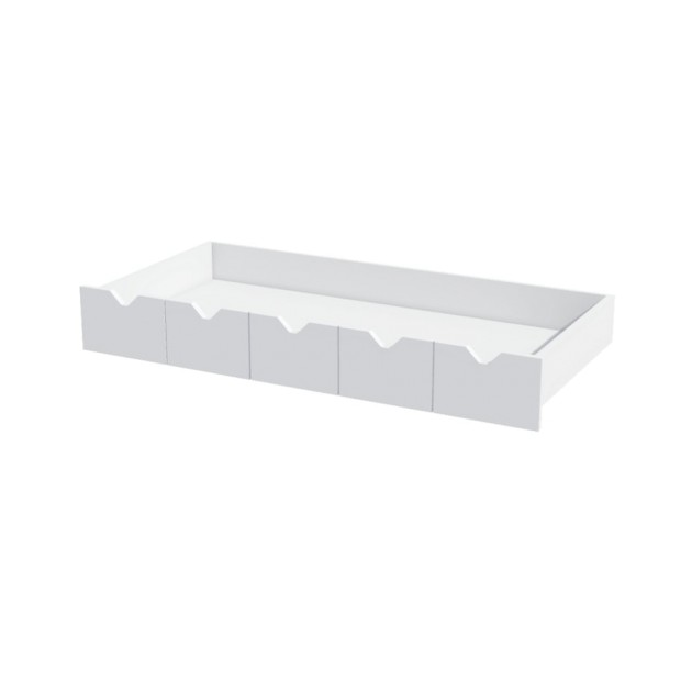 Desk Drawer White Mont White 120 cm