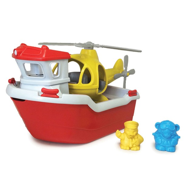 Rescue Boat, 100% recycled plastic