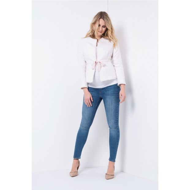 Over Bump Super-Skinny Maternity Jeans