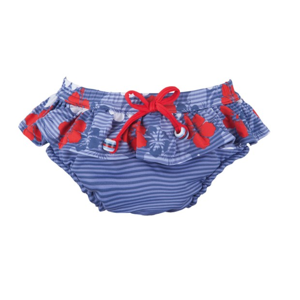 Bloomer Double Protection Hawaii Rouge Fille