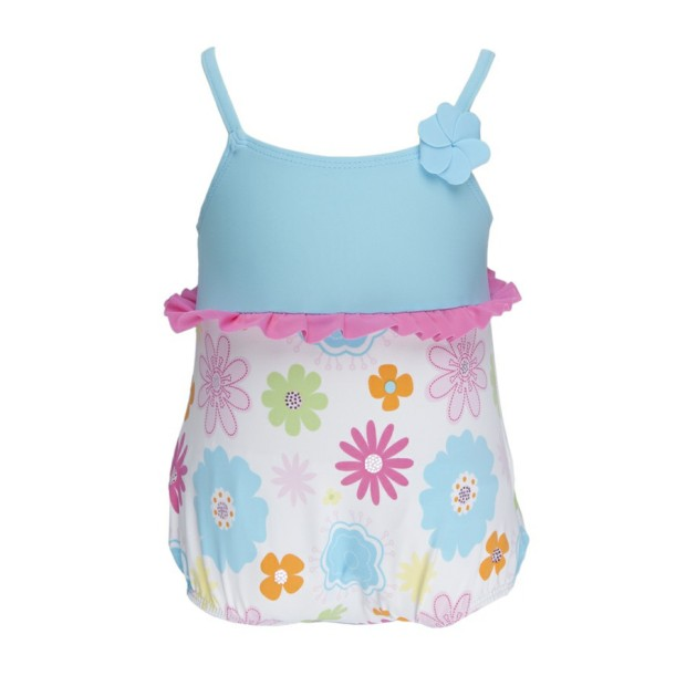 Aquaa Flower Swimsuit Double Protection