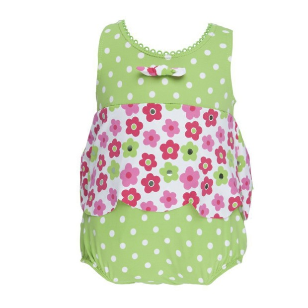 Maillot Double Protection Dotty Flower