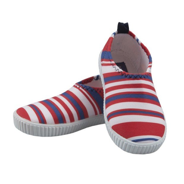 Striped water shoes