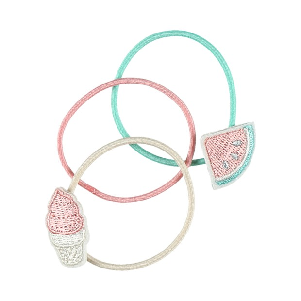 Ice cream and watermelon hair bands