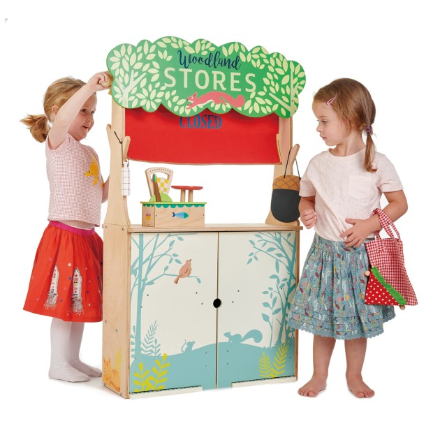 Shop and Puppet theater