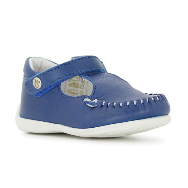 BENJIE SHOES BEDRETTO VELCRO BLEU ROI