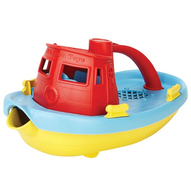 Tugboat, 100% recycled plastic