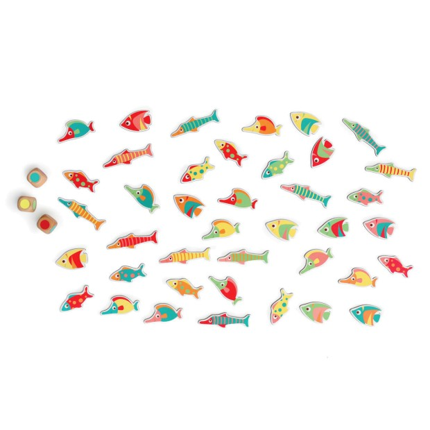 Colour matching game fish