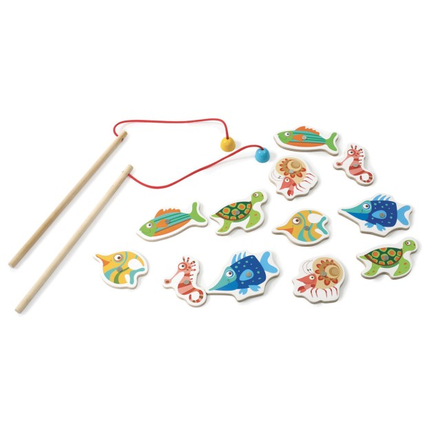 3-in-1 fishing game, magnetic