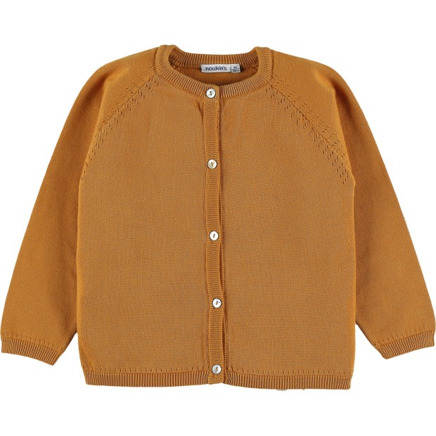 Cardigan Knit Yellow