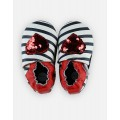Slippers Heart Leather