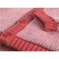 Long knitted jumper lined with Groloudoux®
