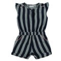 Combi Striped Cotton Blue