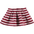 Dress Striped Cotton Bordeaux