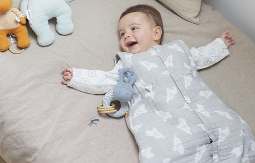 2. Baby sleeping bags ensure baby's safety